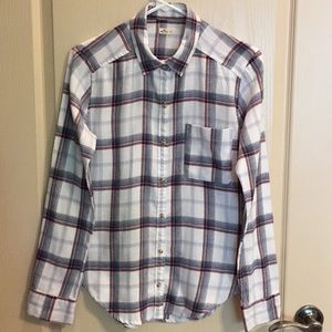 Hollister Flannel Button Down Shirt